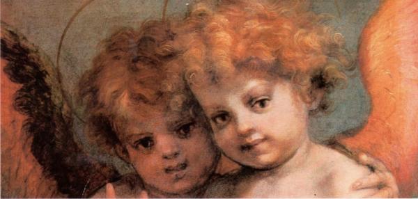 Zwillinge Engel